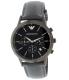 Emporio Armani Men's AR2481 Blue Leather Quartz Watch - Main Image Swatch