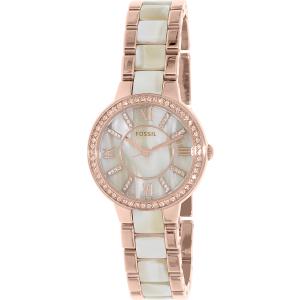 Fossil Women's Virginia ES3716 Rose Gold Stainless-Steel Quartz Watch