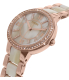 Fossil Women's Virginia ES3716 Rose Gold Stainless-Steel Quartz Watch - Side Image Swatch