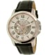 Fossil Men's Grant ME3101 Silver Leather Automatic Watch - Main Image Swatch