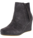 Toms Women's Desert Wedge High Ankle-High Suede Boot - Main Image Swatch