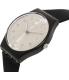 Swatch Women's Originals GB287 Black Rubber Quartz Watch - Side Image Swatch