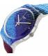 Swatch Men's Originals SUOK113 Multicolor Rubber Quartz Watch - Side Image Swatch