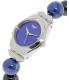 Swatch Women's Irony YSS294G Blue Ceramic Swiss Quartz Watch - Side Image Swatch