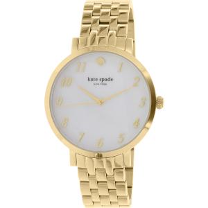 Kate Spade Women's Monterey 1YRU0847 Gold Stainless-Steel Quartz Watch