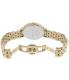 Kate Spade Women's Monterey 1YRU0847 Gold Stainless-Steel Quartz Watch - Back Image Swatch