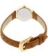 Kate Spade Women's Metro 1YRU0867 Brown Leather Quartz Watch - Back Image Swatch