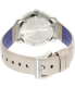 Movado Women's Bold 3600311 Silver Leather Swiss Quartz Watch - Back Image Swatch