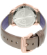 Movado Women's Bold 3600313 Rose Gold Leather Swiss Quartz Watch - Back Image Swatch