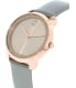 Movado Women's Bold 3600313 Rose Gold Leather Swiss Quartz Watch - Side Image Swatch
