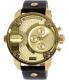 Diesel Men's DZ7363 Black Leather Quartz Watch - Main Image Swatch