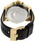 Diesel Men's DZ7363 Black Leather Quartz Watch - Back Image Swatch