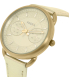Fossil Women's Tailor ES3912 Silver Leather Quartz Watch - Side Image Swatch