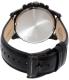 Fossil Men's Grant FS5132 Black Leather Quartz Watch - Back Image Swatch