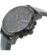 Fossil Men's Grant FS5132 Black Leather Quartz Watch - Side Image Swatch