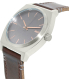 Nixon Men's Time Teller A0452066 Brown Stainless-Steel Quartz Watch - Side Image Swatch