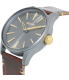 Nixon Men's Sentry 38 A377595 Brown Leather Quartz Watch - Side Image Swatch