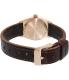 Nixon Women's Time Teller A5092001 Brown Leather Quartz Watch - Back Image Swatch