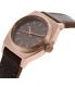 Nixon Women's Time Teller A5092001 Brown Leather Quartz Watch - Side Image Swatch