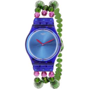 Swatch Women's Originals GN243B Blue Plastic Swiss Quartz Watch