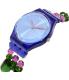 Swatch Women's Originals GN243B Blue Plastic Swiss Quartz Watch - Side Image Swatch