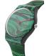 Swatch Women's Originals SUOB122 Green Silicone Swiss Quartz Watch - Side Image Swatch