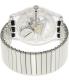 Swatch Men's Originals SUOK105FB Silver Stainless-Steel Swiss Quartz Watch - Back Image Swatch
