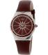 Swatch Women's Irony YSS292 Red Leather Swiss Quartz Watch - Main Image Swatch