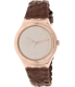 Swatch Men's Irony YWG402 Brown Leather Swiss Quartz Watch - Main Image Swatch
