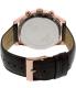 Guess Men's U0500G3 Brown Leather Quartz Watch - Back Image Swatch