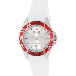 Swiss Military Hanowa Women's Sword 06-6221-04-001-04 White Silicone Swiss Quartz Watch