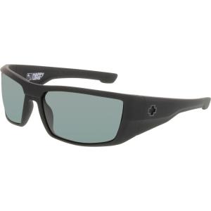 Spy Men's Dirk 672052973863 Black Rectangle Sunglasses