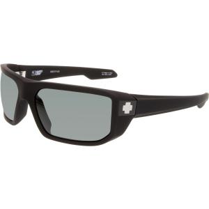 Spy Men's Mccoy 673012973863 Black Wrap Sunglasses