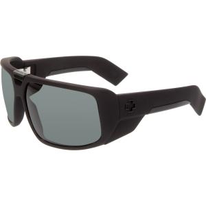 Spy Men's Touring 670795973863 Black Wrap Sunglasses