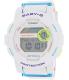 Casio Women's Baby-G BGD180FB-7 White Resin Quartz Watch - Main Image Swatch