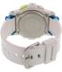 Casio Women's Baby-G BGD180FB-7 White Resin Quartz Watch - Back Image Swatch