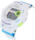 Casio Women's Baby-G BGD180FB-7 White Resin Quartz Watch - Side Image Swatch