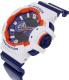Casio Men's G-Shock GA400CS-7A Blue Resin Quartz Watch - Side Image Swatch