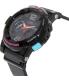 Casio Women's Baby-G BGA180-1B Black Resin Quartz Watch - Side Image Swatch