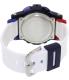 Casio Women's Baby-G BGA180-2B2 White Resin Quartz Watch - Back Image Swatch