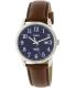 Timex Men's Easy Reader TW2P75900 Brown Leather Quartz Watch - Main Image Swatch