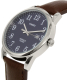Timex Men's Easy Reader TW2P75900 Brown Leather Quartz Watch - Side Image Swatch