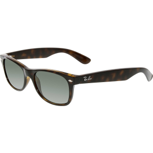 Ray-Ban Women's Polarized  RB2132-902/58-52 Brown Square Sunglasses