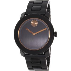 Movado Men's Bold 3600315 Black Plastic Swiss Quartz Watch