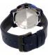 Movado Men's Bold 3600349 Blue Leather Swiss Quartz Watch - Back Image Swatch