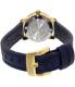 Movado Women's Bold 3600330 Blue Leather Swiss Quartz Watch - Back Image Swatch