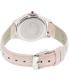 Invicta Women's Angel 12544 Pink Leather Swiss Quartz Watch - Back Image Swatch