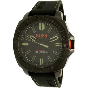 Hugo Boss Men's Sao Paulo 1513254 Black Rubber Quartz Watch