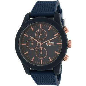 Lacoste Men's 12.12 2010827 Blue Silicone Analog Quartz Watch