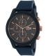 Lacoste Men's 12.12 2010827 Blue Silicone Analog Quartz Watch - Main Image Swatch